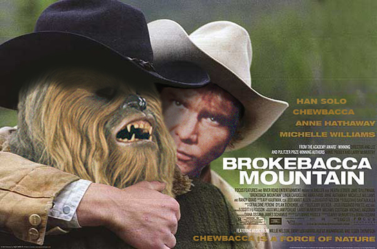 Brokebacca Mountain