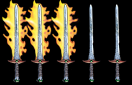 Three Flamers